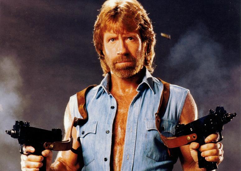 """Mascles de l'Univers Cinematogràfic Vol.1: """"Hòstia Seca"""" Chuck Norris"""