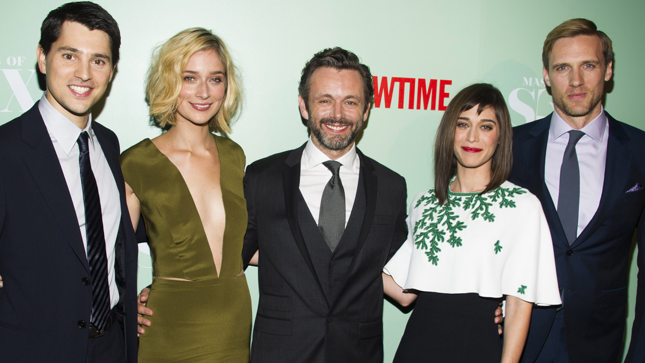 Nicholas D'Agosto, Michael Sheen, Caitlin Fitzgerald, Lizzy Caplan, Teddy Sears
