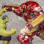 Espectaculars figures de Hulkbuster Iron Man vs Hulk