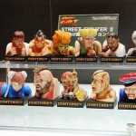 """Mini figures dels lluitadors derrotats de """"Street Fighter"""""""