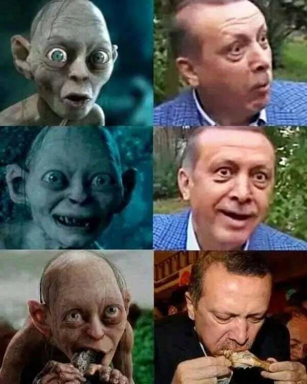 erdogan-gollum