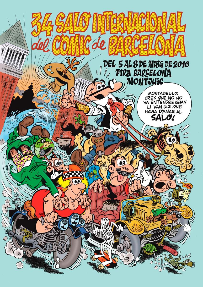 34 sal del c mic de barcelona del 5 al 8 de maig for Cinema montjuic 2016