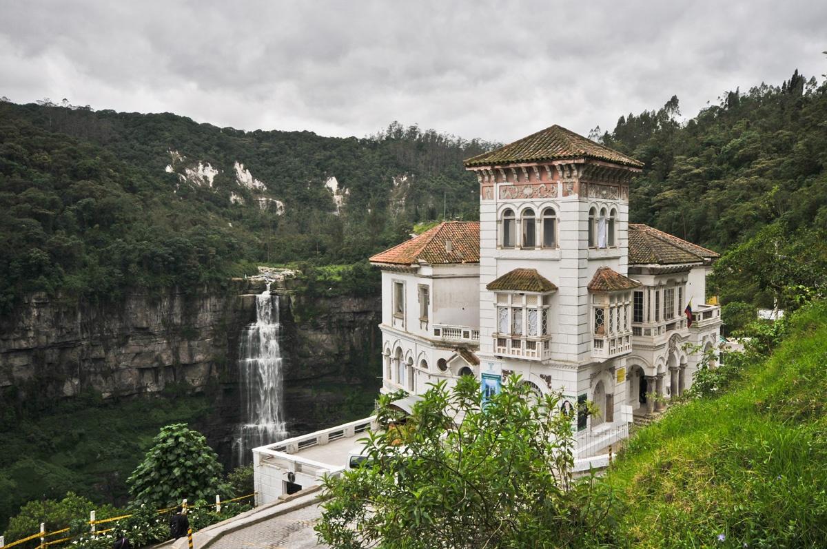 Casa museo salto de tequendama turisme de terror colombi - Casas del salto ...