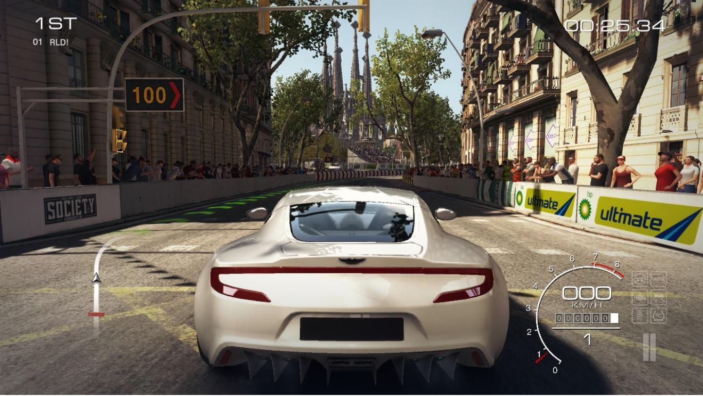 Barcelona apareix al videojoc de cotxes GRID