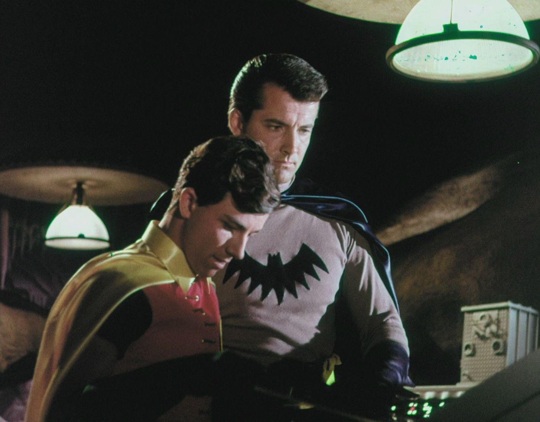Lyle Waggoner y Peter Deyell, los Batman y Robin que no fueron