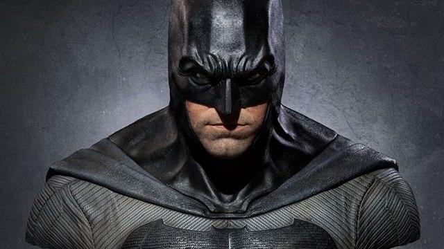 El espectacular busto a tamaño real del Batman de Ben Affleck