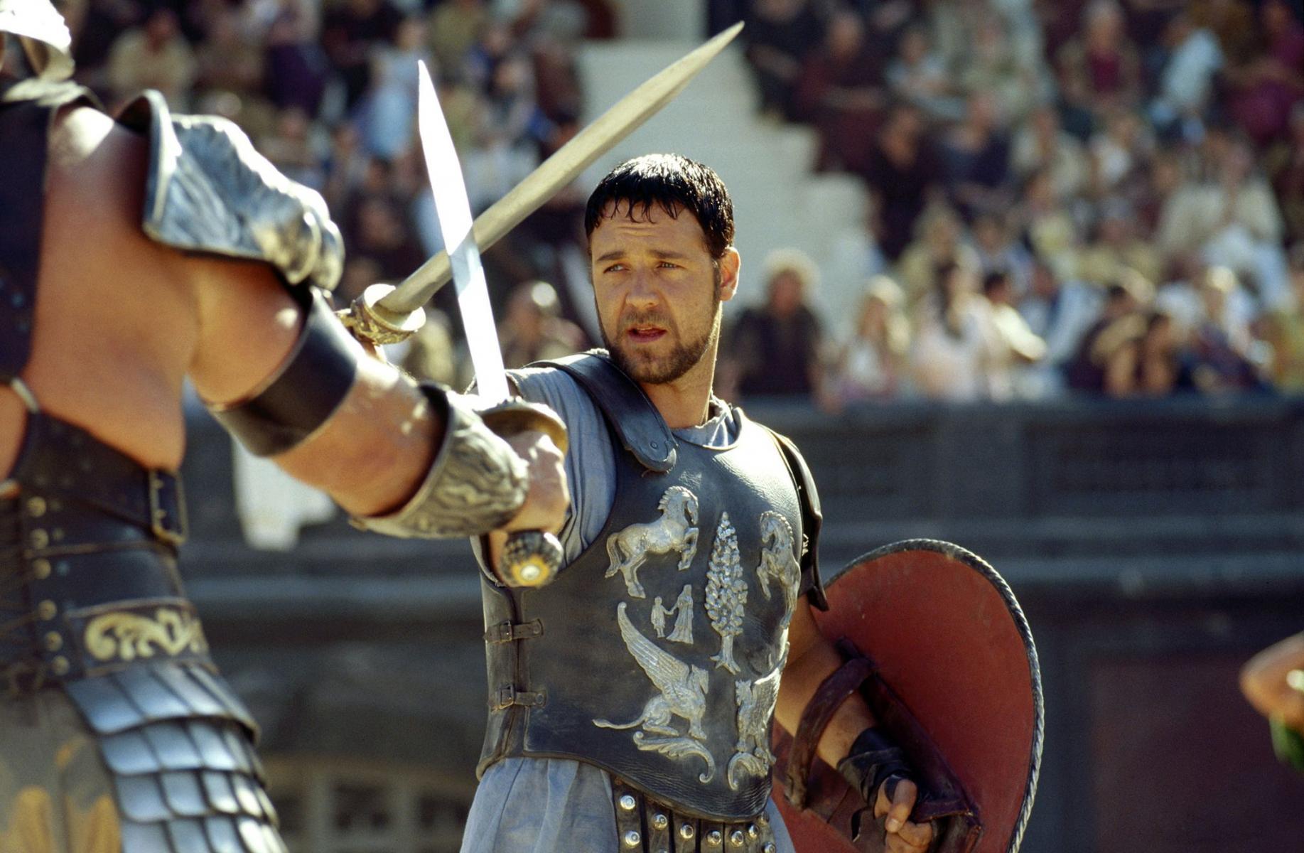 """[Crítica] """"Gladiator"""", una magnífica película liderada por Russell Crowe"""