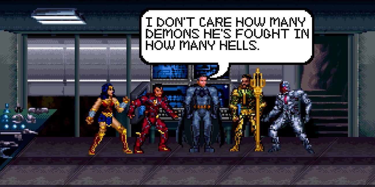 Recrean en 16 bits el tráiler de Justice League: The Snyder Cut